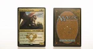 Dragonlord Dromoka   DTK (Dragons of Tarkir) mtg proxy magic the gathering tournament proxies GP FNM available