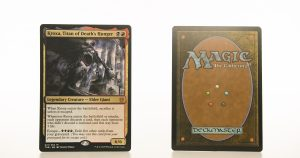Kroxa, Titan of Death's Hunger extended art THB Theros beyond death hologram mtg proxy magic the gathering tournament proxies GP FNM available