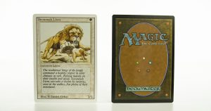Savannah Lions   Revised Edition 3ED mtg proxy magic the gathering tournament proxies GP FNM available