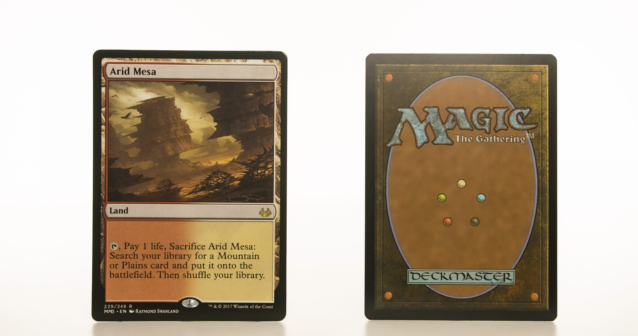 Arid Mesa  MM3 Modern Masters 2017 mtg proxy magic the gathering tournament proxies GP FNM available