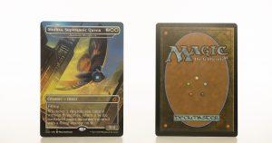 Luminous Broodmoth - Mothra, Supersonic Queen Ikoria: Lair of Behemoths (IKO) hologram mtg proxy magic the gathering tournament proxies GP FNM available
