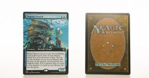 Thassa's Oracle extended art THB Theros beyond death hologram mtg proxy magic the gathering tournament proxies GP FNM available