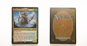 Klothys, God of Destiny THB Theros beyond death hologram mtg proxy magic the gathering tournament proxies GP FNM available