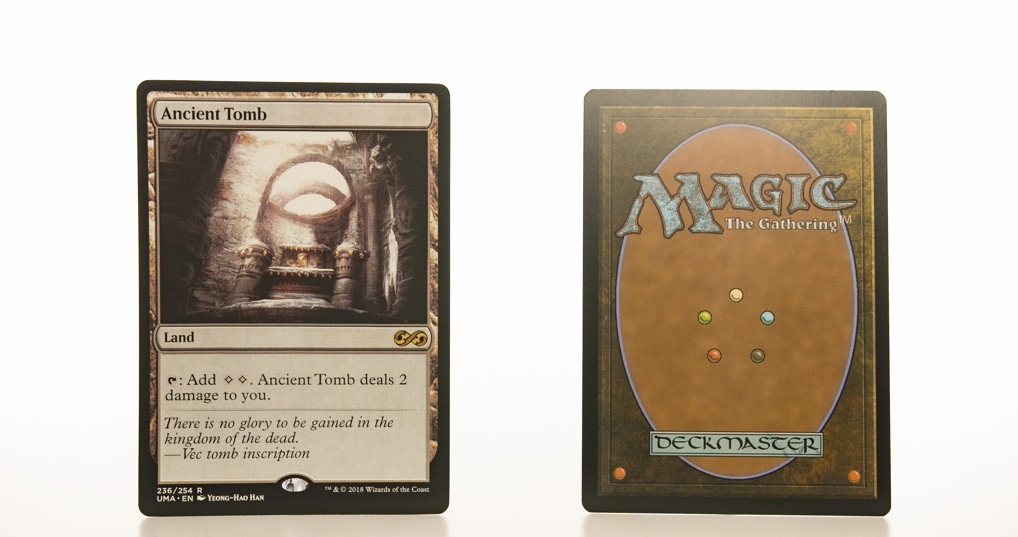 ancient tomb UMA mtg proxy magic the gathering tournament proxies GP FNM available