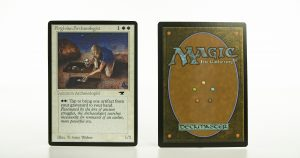 Argivian Archaeologist   AQ (Antiquities) ATQ mtg proxy magic the gathering tournament proxies GP FNM available