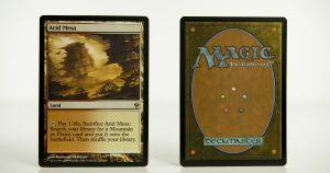 Arid Mesa Zendikar mtg proxy magic the gathering tournament proxies GP FNM available