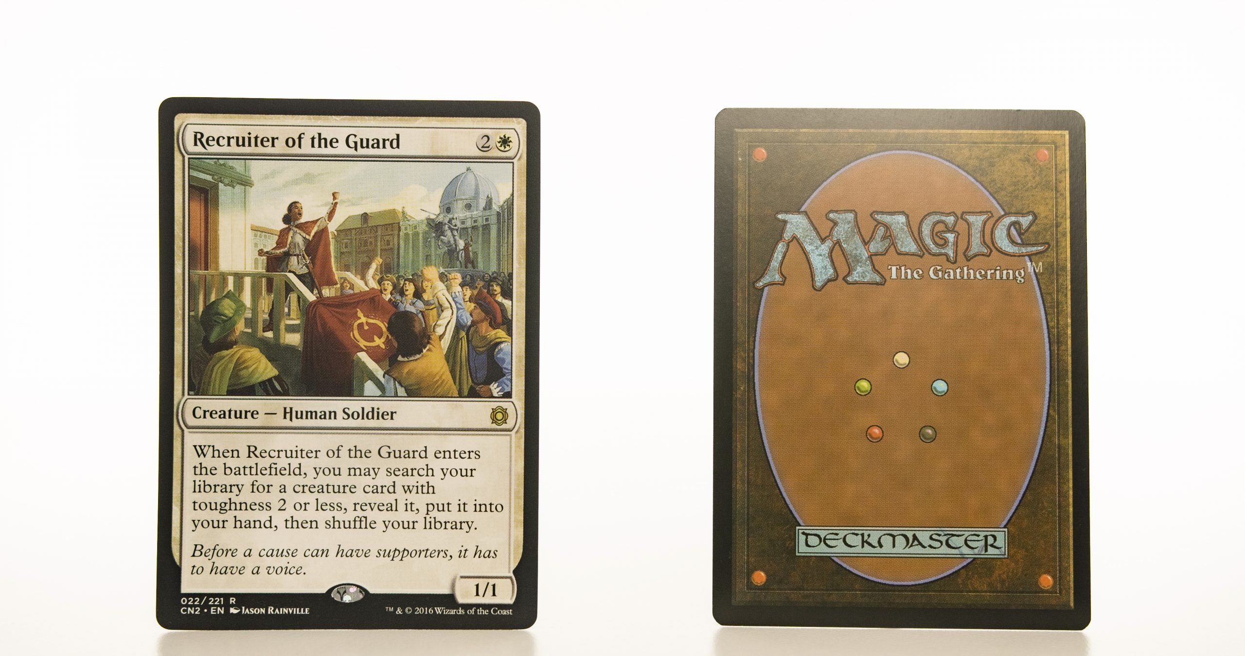Recruiter of the Guard CN2 mtg proxy magic the gathering tournament proxies GP FNM available