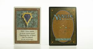 Mox Sapphire Unlimited mtg proxy magic the gathering tournament proxies GP FNM available