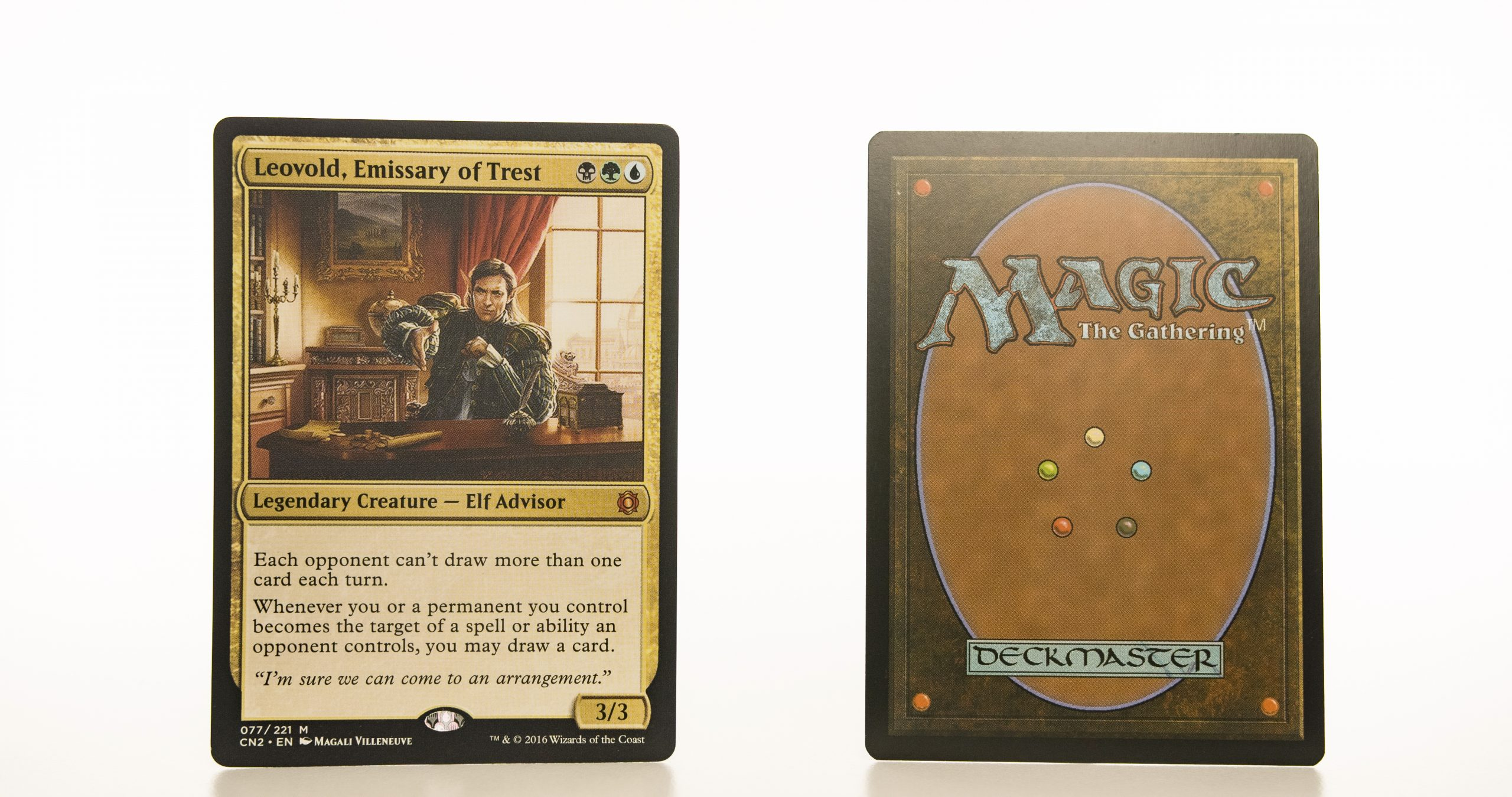 Leovold, Emissary of Trest CN2 mtg proxy magic the gathering tournament proxies GP FNM available