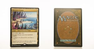 Raugrin Triome Ikoria: Lair of Behemoths (IKO) hologram mtg proxy magic the gathering tournament proxies GP FNM available