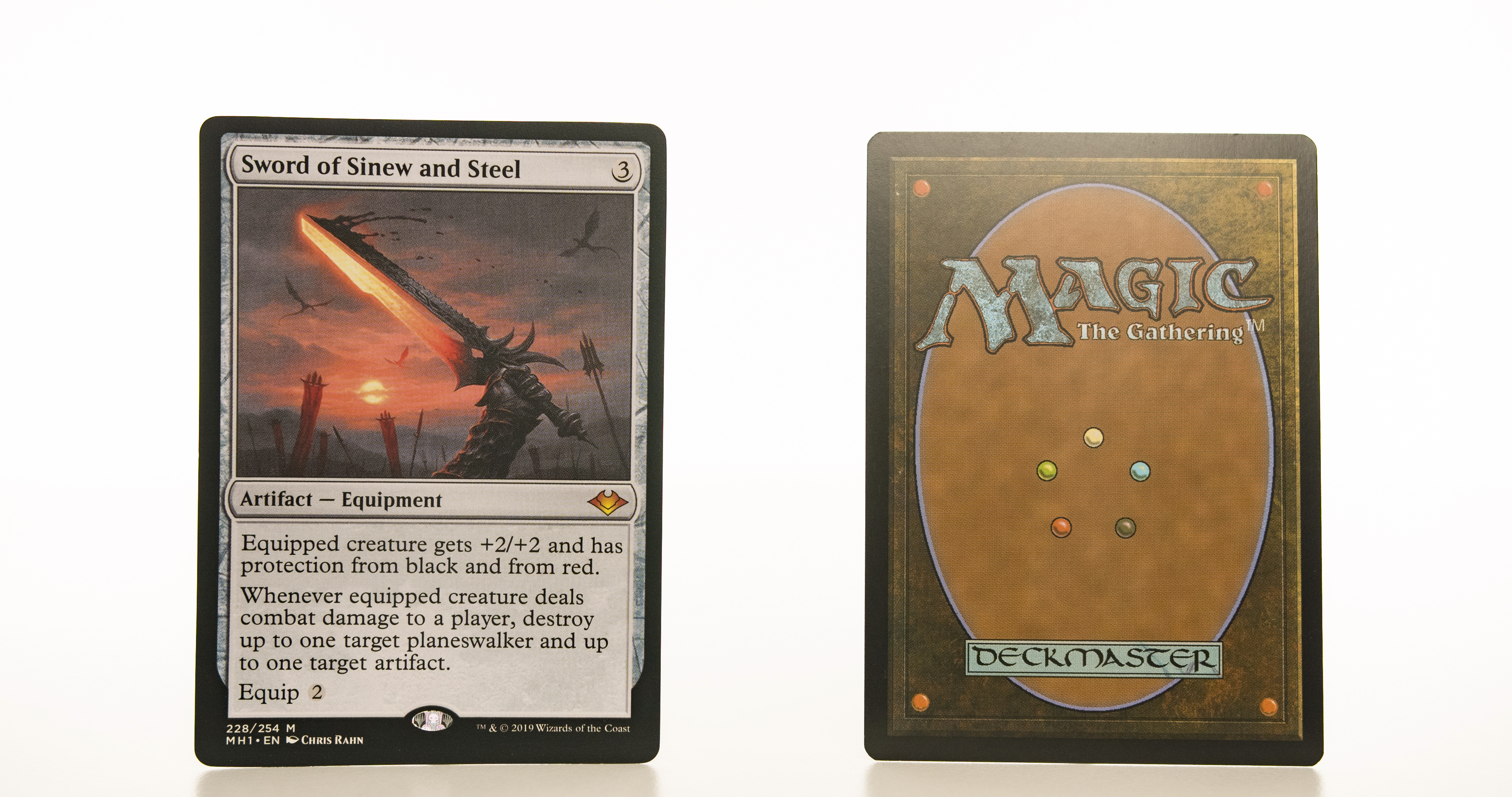 Sword of Sinew and Steel MH1 mtg proxy magic the gathering tournament proxies GP FNM available