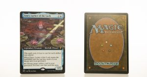 Emry, Lurker of the Loch ELD Throne of Eldraine hologram mtg proxy magic the gathering tournament proxies GP FNM available