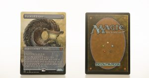 Wurmcoil Engine Extended Art 2XM Double Masters hologram mtg proxy magic the gathering tournament proxies GP FNM available