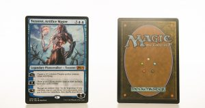 Tezzeret, Artifice Master M19 mtg proxy magic the gathering tournament proxies GP FNM available