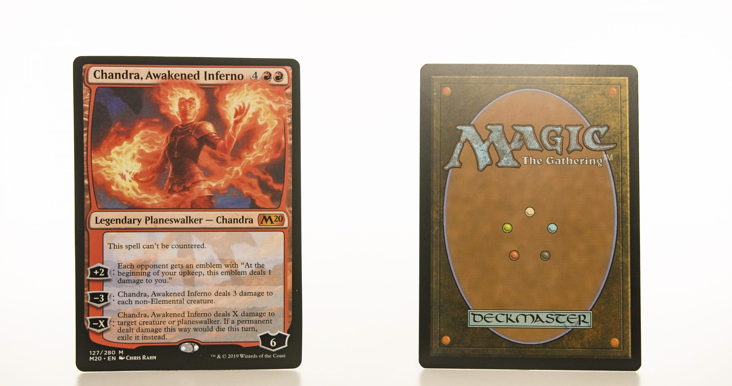 Chandra, Awakened Inferno M20 mtg proxy magic the gathering tournament proxies GP FNM available