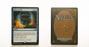 Force of Will 2XM Double Masters hologram mtg proxy magic the gathering tournament proxies GP FNM available