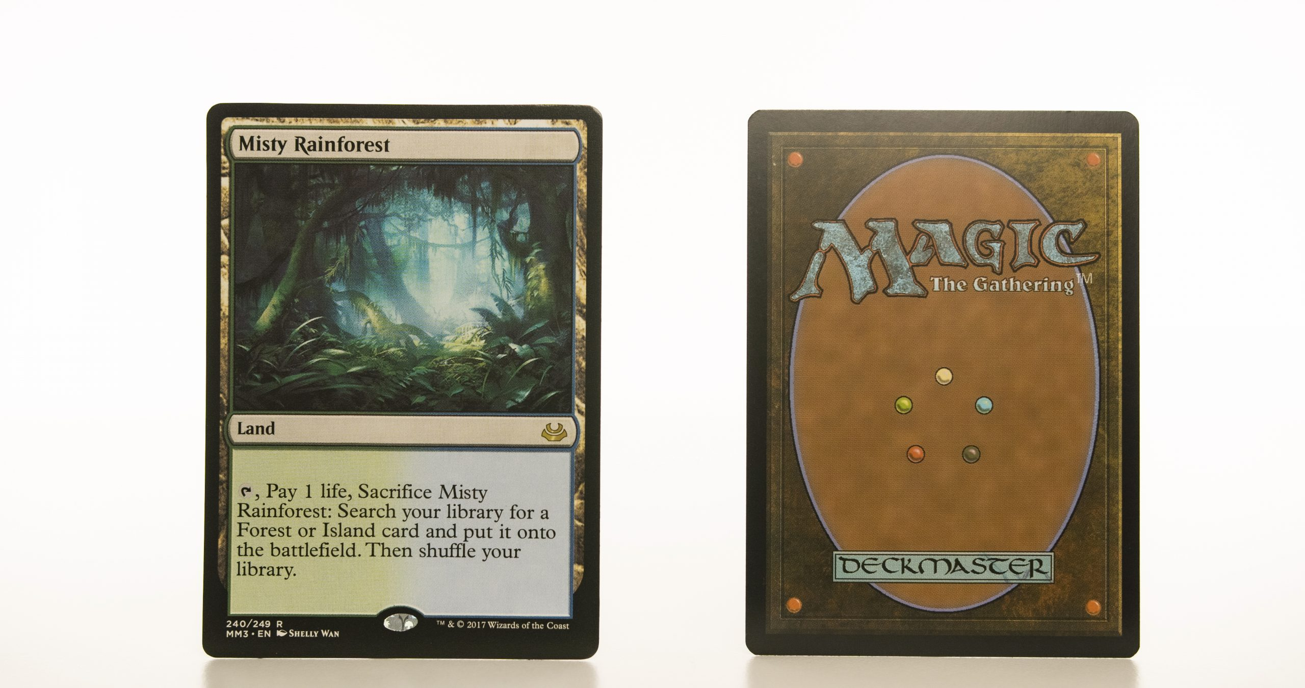 Misty Rainforest  MM3 Modern Masters 2017 mtg proxy magic the gathering tournament proxies GP FNM available