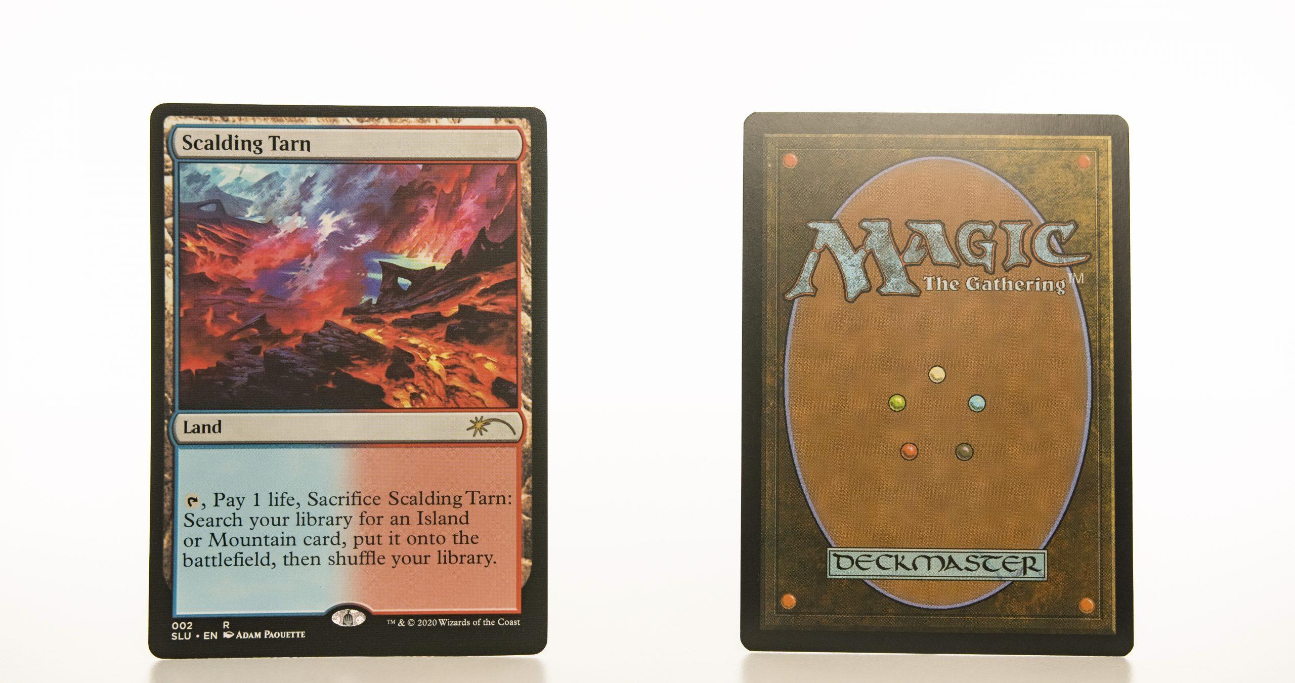 Scalding Tarn Secret Lair: Ultimate Edition (SLU) hologram mtg proxy magic the gathering tournament proxies GP FNM available