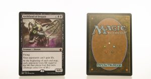 Archfiend of Despair battlebond (BBD) hologram mtg proxy magic the gathering tournament proxies GP FNM available