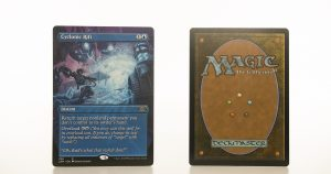 Cyclonic Rift Extended Art 2XM Double Masters hologram mtg proxy magic the gathering tournament proxies GP FNM available