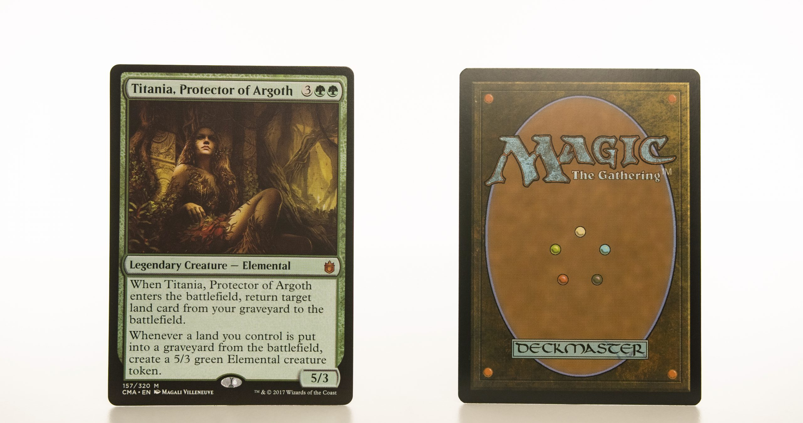 Titania, Protector of Argoth Commander Anthology hologram mtg proxy magic the gathering tournament proxies GP FNM available
