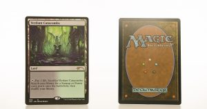 Verdant Catacombs Secret Lair: Ultimate Edition (SLU) hologram mtg proxy magic the gathering tournament proxies GP FNM available