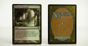 Verdant Catacombs Zendikar mtg proxy magic the gathering tournament proxies GP FNM available