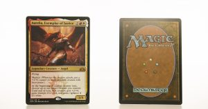 aurelia exemplar of justice GRN mtg proxy magic the gathering tournament proxies GP FNM available