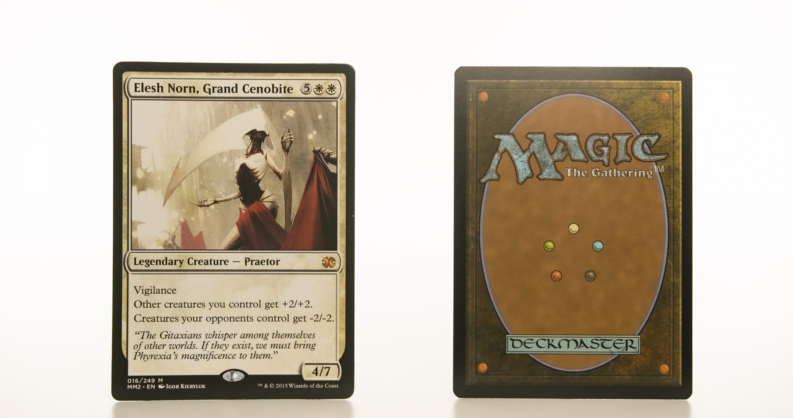 Elesh Norn, Grand Cenobite  MM2 (Modern Masters 2015) mtg proxy magic the gathering tournament proxies GP FNM available