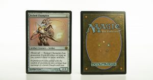Etched Champion SOM (Scars of Mirrodin) mtg proxy magic the gathering tournament proxies GP FNM available