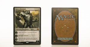 Karn Liberated 2XM Double Masters hologram mtg proxy magic the gathering tournament proxies GP FNM available