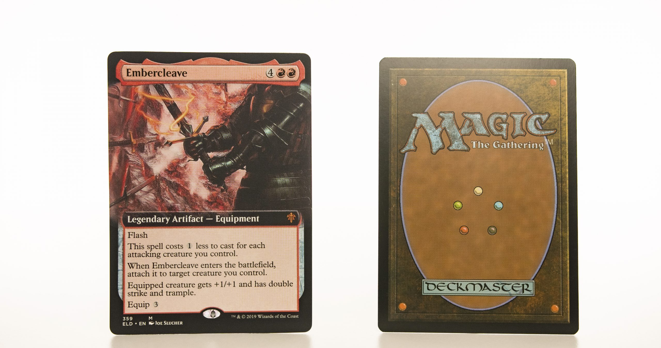 Embercleave (extended art) ELD Throne of Eldraine hologram mtg proxy magic the gathering tournament proxies GP FNM available