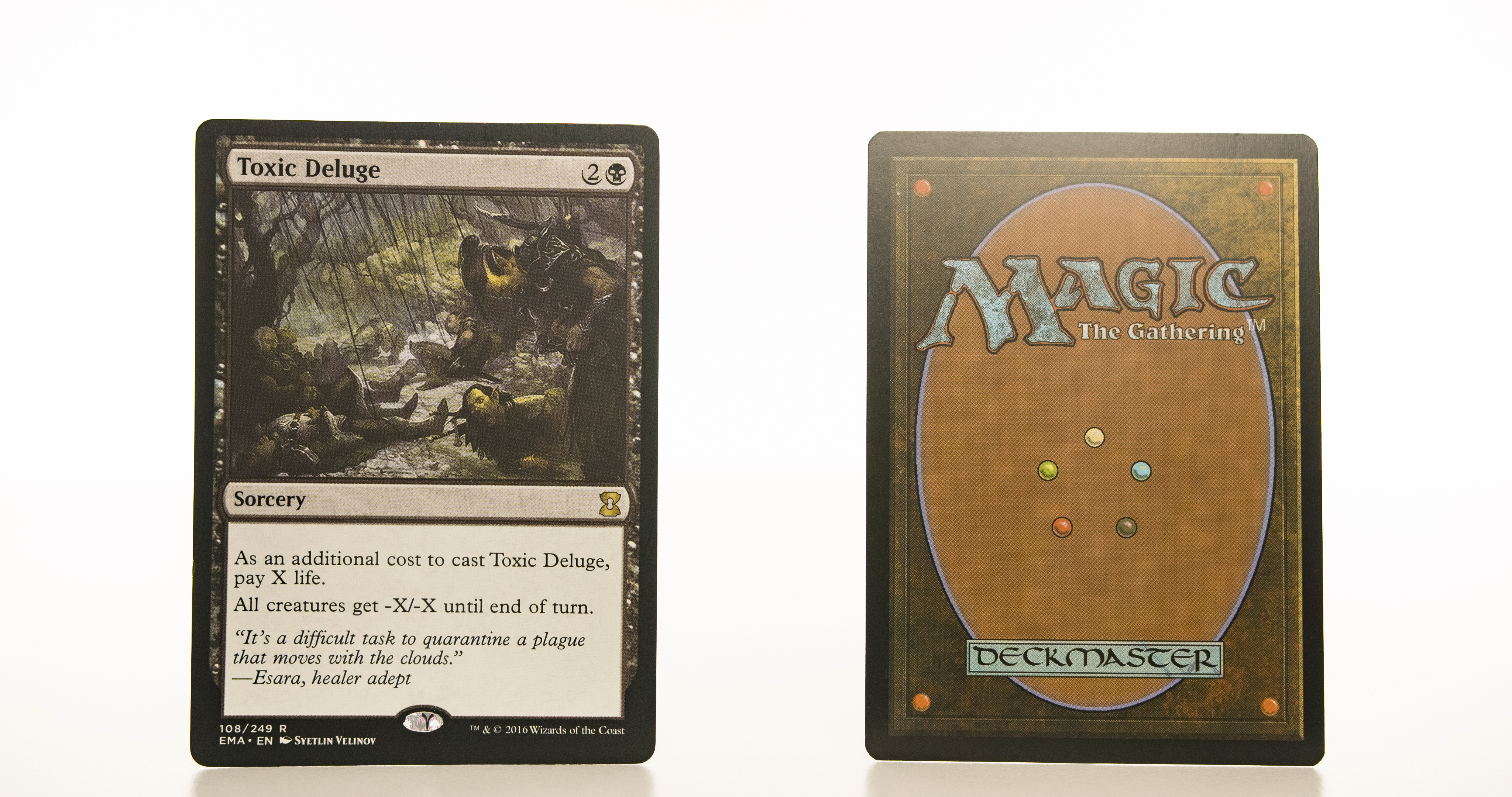 Toxic Deluge EMA mtg proxy magic the gathering tournament proxies GP FNM available