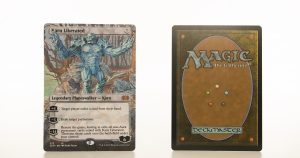karn liberated extended art 2XM Double Masters hologram mtg proxy magic the gathering tournament proxies GP FNM available