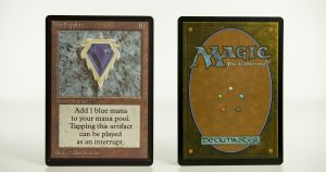 Mox Sapphire Beta mtg proxy magic the gathering tournament proxies GP FNM available