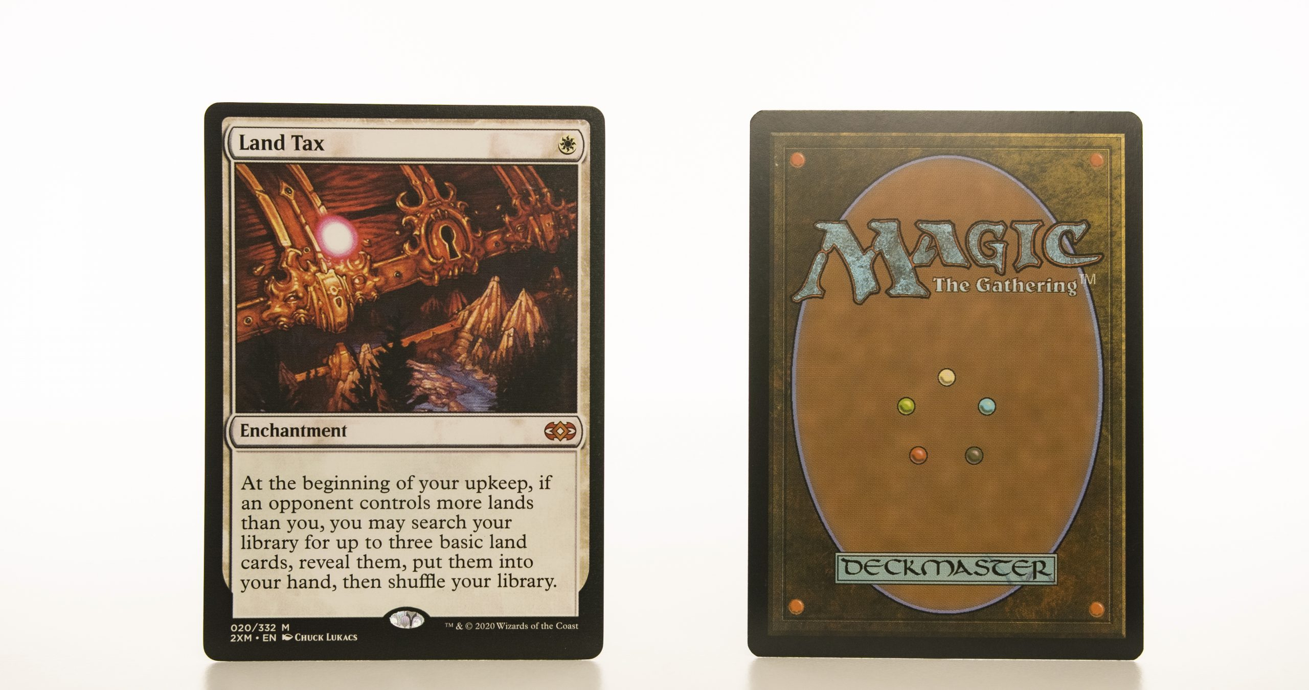 Land Tax 2XM Double Masters hologram mtg proxy magic the gathering tournament proxies GP FNM available