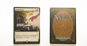 Idyllic Tutor extended art THB Theros beyond death hologram mtg proxy magic the gathering tournament proxies GP FNM available