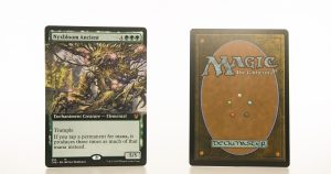 Nyxbloom Ancient extended art THB Theros beyond death hologram mtg proxy magic the gathering tournament proxies GP FNM available