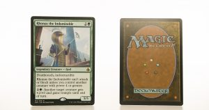 Rhonas the Indomitable AKH mtg proxy magic the gathering tournament proxies GP FNM available