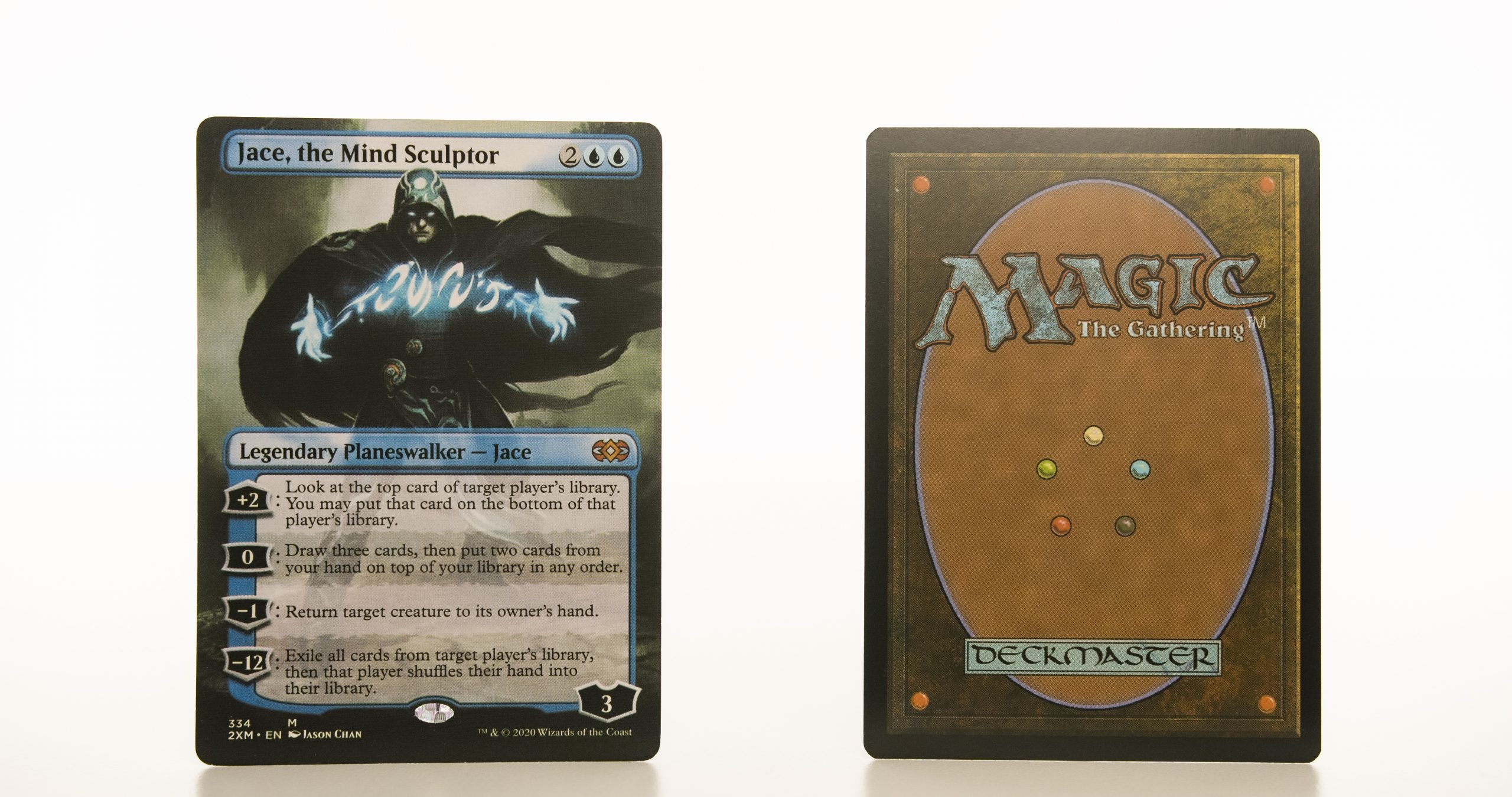 Jace, the Mind Sculptor extended art 2XM Double Masters hologram mtg proxy magic the gathering tournament proxies GP FNM available