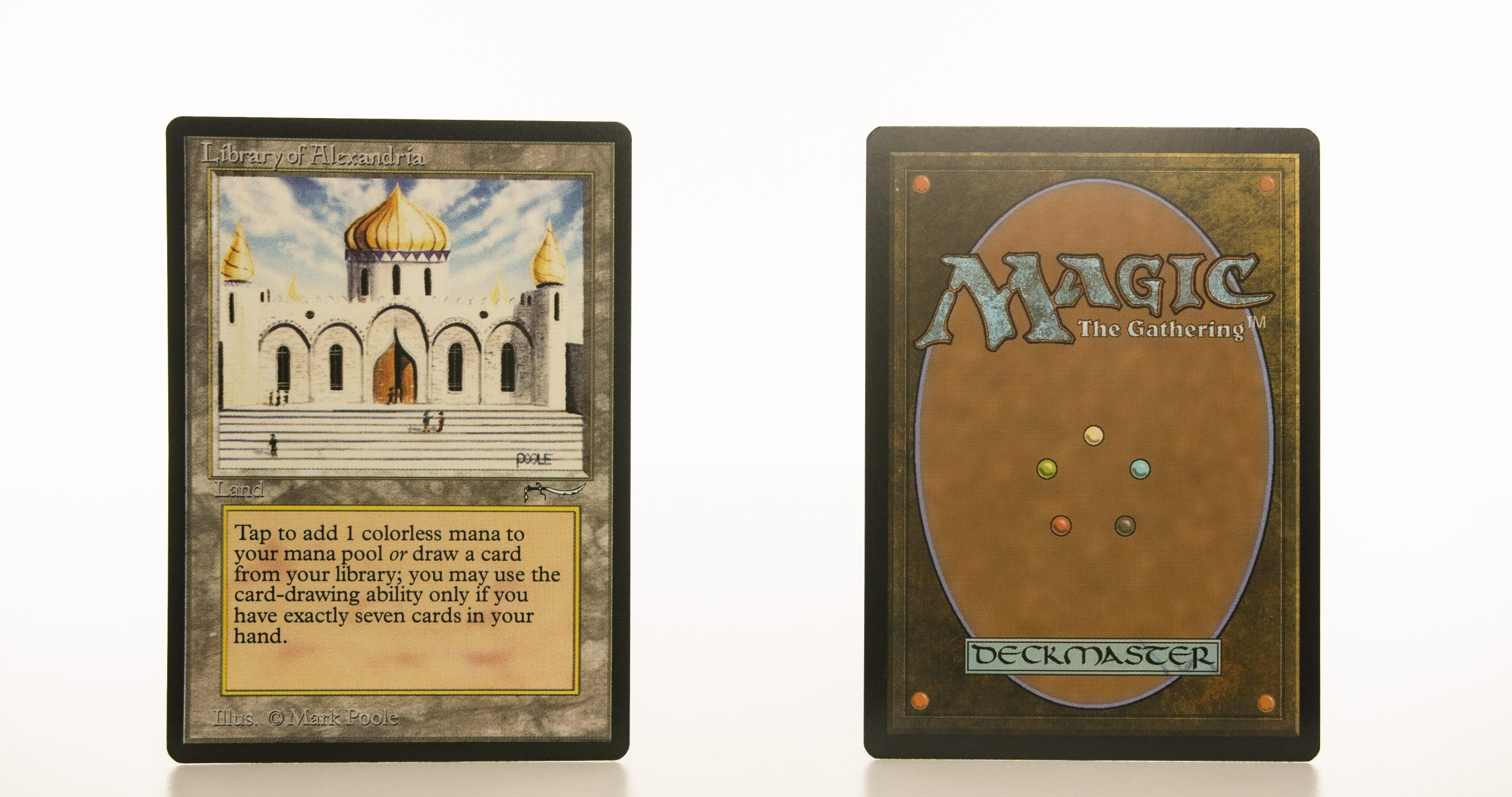 Library of Alexandria Arabian Nights mtg proxy magic the gathering tournament proxies GP FNM available