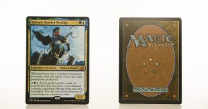 Kinnan, Bonder Prodigy Ikoria: Lair of Behemoths (IKO) hologram mtg proxy magic the gathering tournament proxies GP FNM available