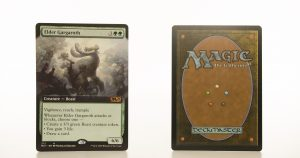 Elder Gargaroth extended art core set 2021 M21 hologram mtg proxy magic the gathering tournament proxies GP FNM available