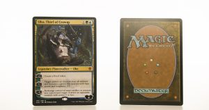 Oko, Thief of Crowns ELD Throne of Eldraine hologram mtg proxy magic the gathering tournament proxies GP FNM available