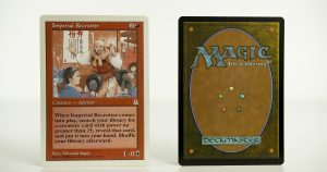 Imperial Recruiter Portal Three Kingdoms mtg proxy magic the gathering tournament proxies GP FNM available