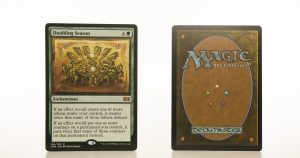 Doubling Season 2XM Double Masters hologram mtg proxy magic the gathering tournament proxies GP FNM available