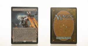 Stoneforge Mystic Extended Art 2XM Double Masters hologram mtg proxy magic the gathering tournament proxies GP FNM available