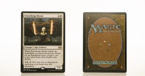 Stoneforge Mystic 2XM Double Masters hologram mtg proxy magic the gathering tournament proxies GP FNM available