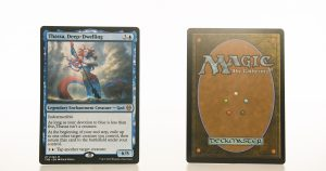 Thassa, Deep-Dwelling THB Theros beyond death hologram mtg proxy magic the gathering tournament proxies GP FNM available