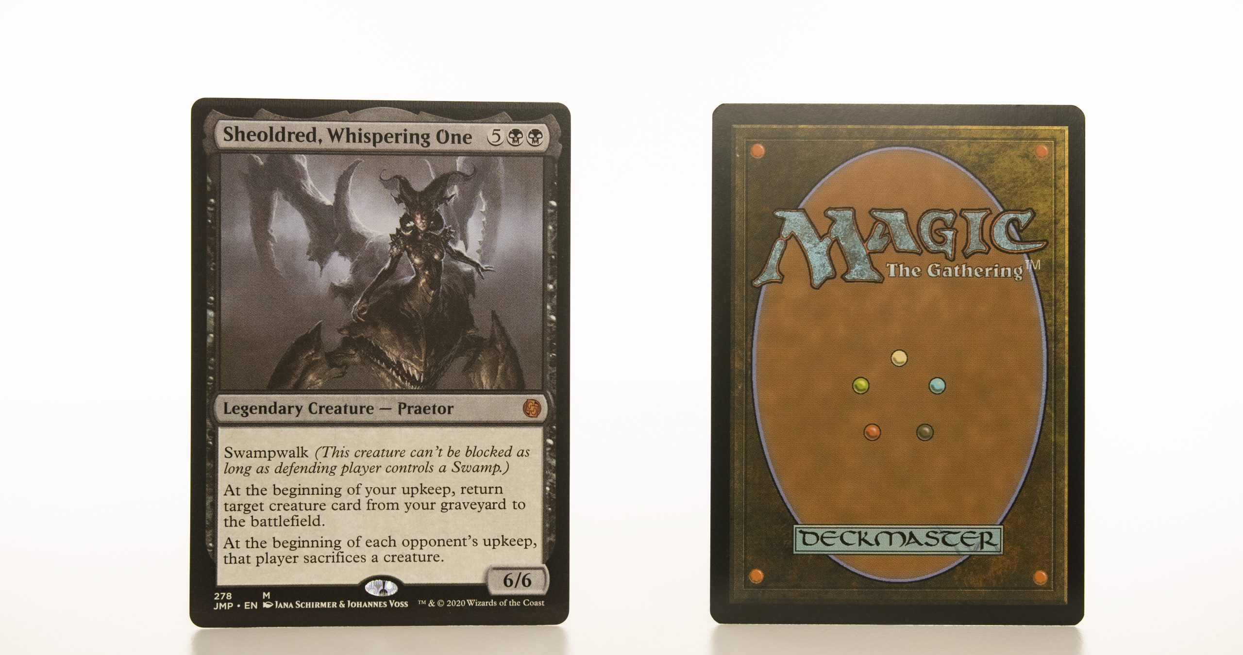 Sheoldred, Whispering One Jumpstart (JMP) hologram mtg proxy magic the gathering tournament proxies GP FNM available